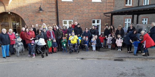 Whiteley resident raises £500 for Children in Need