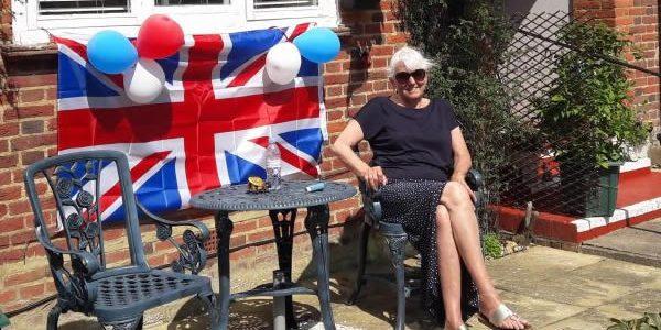 Whiteley celebrates VE Day in style