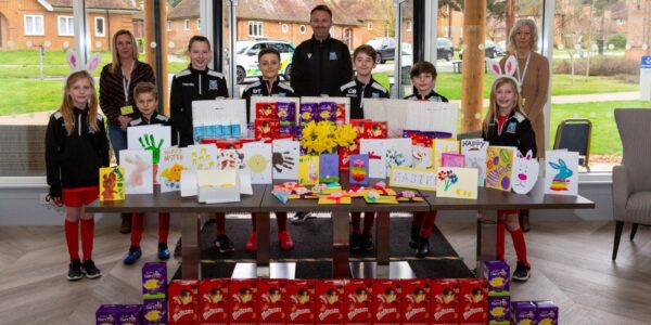 Residents get an early Easter treat