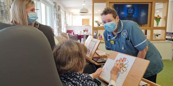Care Home Open Week 2021: Kirstien makes an art of it