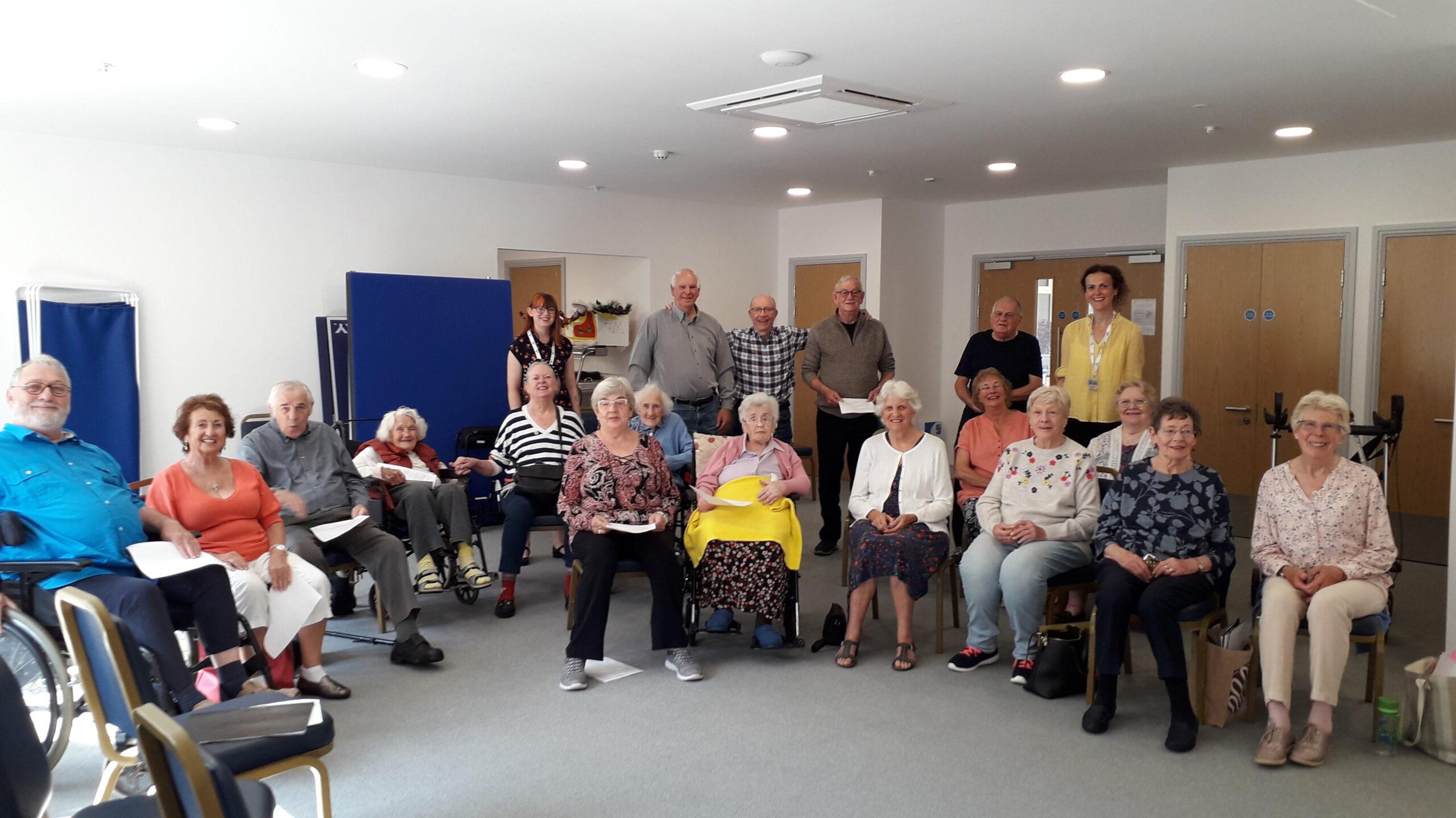 Press Release: Grant provides lifeline to Whiteley's community choir